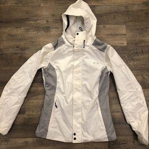 Oakley White Ski/Snowboard Jacket